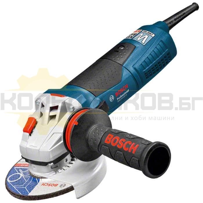 Електрически ъглошлайф BOSCH GWS 19-125 CI - 1