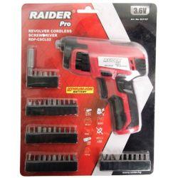Акумулаторна револверна отвертка RAIDER RDP-CSCL02 - 5