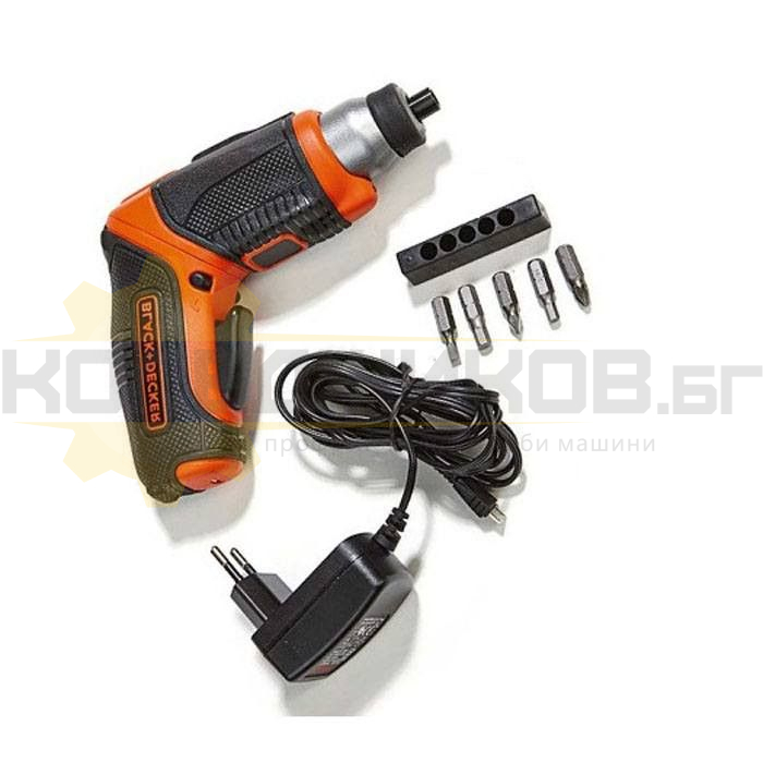 Акумулаторна отвертка BLACK+DECKER CS3653LC - 1