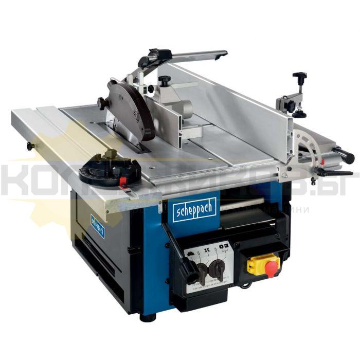Петоперационна дървообработваща машина SCHEPPACH Combi 6 - 1