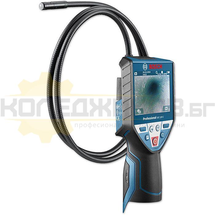 Инспекционна камера за тръби и канали BOSCH GIC 120 C - 1