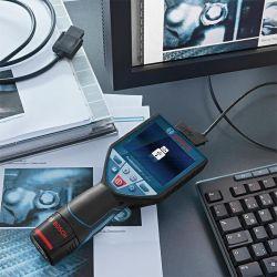 Инспекционна камера за тръби и канали BOSCH GIC 120 C - 6