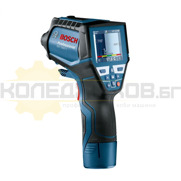 Дигитална термокамера BOSCH GIS 1000 C Professional Li-ion - 1