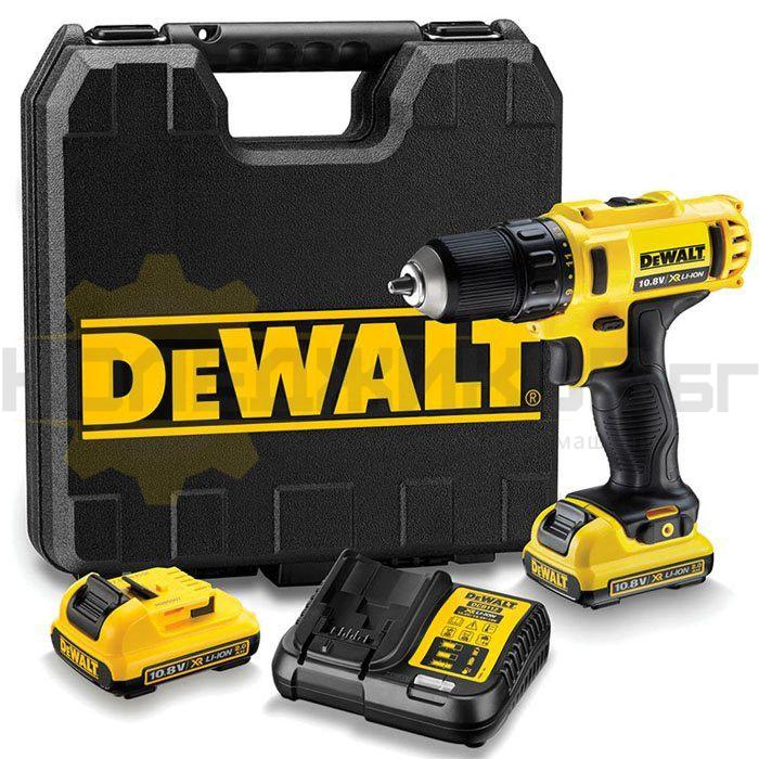 Акумулаторна бормашина DeWALT DCD710D2 - 1