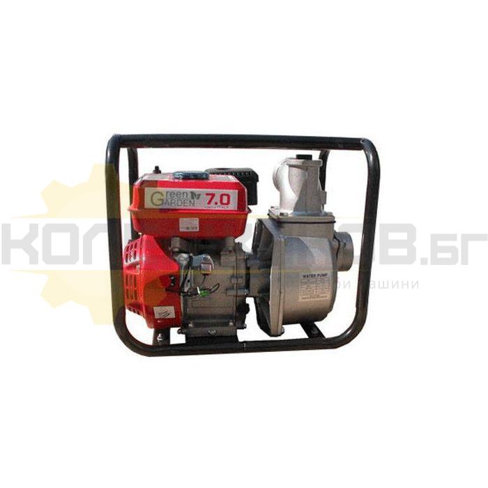 Бензинова помпа за чиста вода GREEN GARDEN 3 - 1