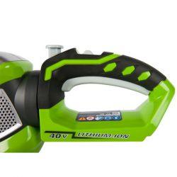 Акумулаторен храсторез GreenWorks G40HT61K2 - 10