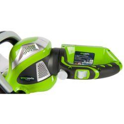 Акумулаторен храсторез GreenWorks G40HT61K2 - 11