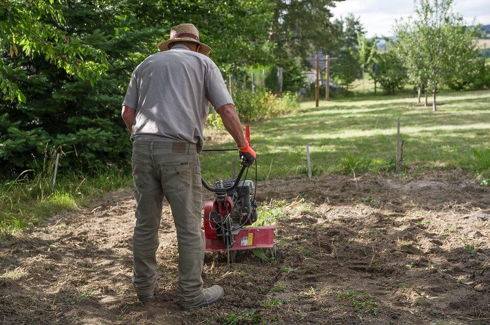 мотофреза за градината